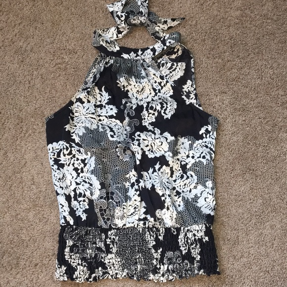 Cache Tops - Cache silk blouse sz small